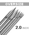 'EZ' PIERCE ULTRA PIERCING NEEDLE (OVERSIZE, 2.0 INCH)